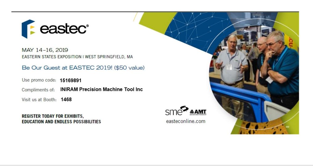 Eastec invite